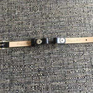 Origami Owl Jewelry - Origami Owl black single wrap for locket